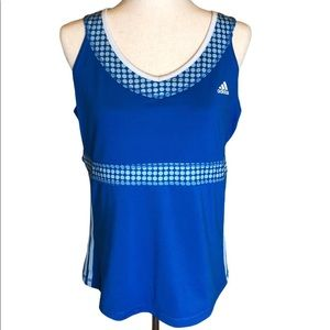 Adidas tank top athletic workout top size XL